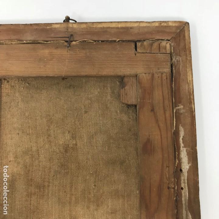 Arte: Oleo antiguo y raro de San Agustín de Hipona - Foto 21 - 135815298