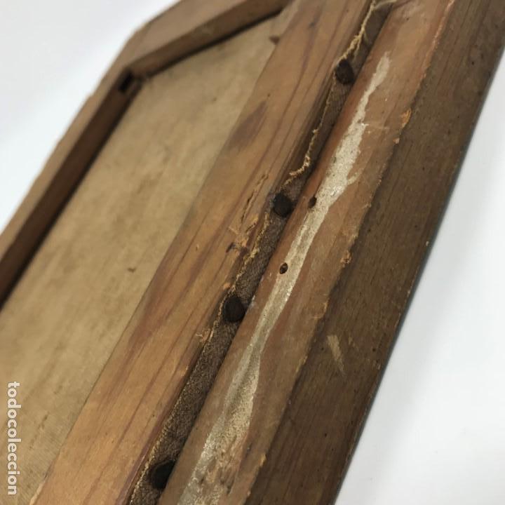 Arte: Oleo antiguo y raro de San Agustín de Hipona - Foto 24 - 135815298