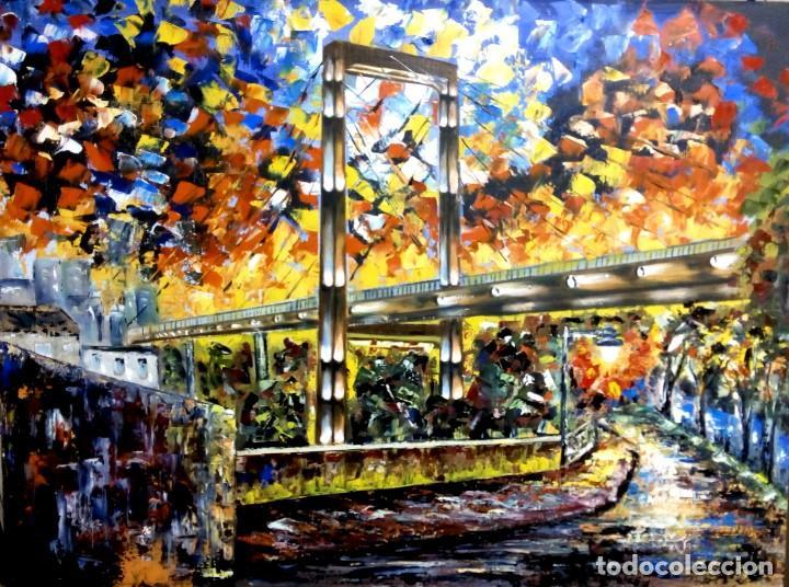 PUENTE DE FERNANDO REIG-ALCOY (Arte - Pintura - Pintura al Óleo Contemporánea )