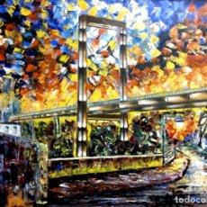 Arte: PUENTE DE FERNANDO REIG-ALCOY. Lote 135820678