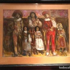 Arte: GOUACHE DEL PINTOR VALENCIANO MANUEL FERNANDEZ LUQUE. Lote 135879658