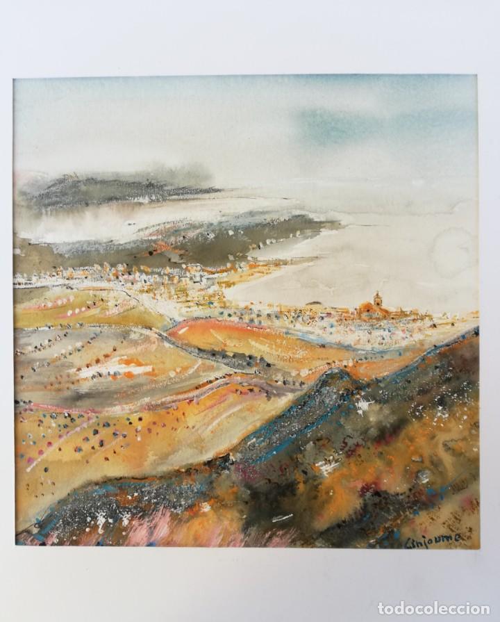 Arte: Vicens GINJAUME. Vista de Cadaqués - Foto 3 - 135883666