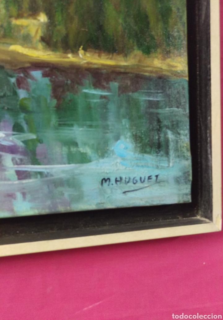 Arte: Paisaje al oleo con firma de autor - Foto 4 - 135920786