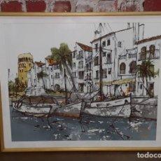 Arte: OLEO DE BERNARD DUFOUR. Lote 135925130
