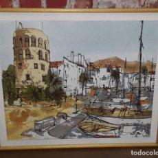 Arte: OLEO DE BERNARD DUFOUR. Lote 135925822