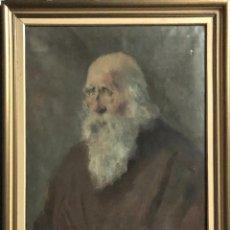 Arte: JOSÉ DE LECUE Y SARACHO. TÍTULO: RETRATO DE D. LOPE GARCÍA DE SALAZAR. FIRMADO: LEKUE, 1951.. Lote 135939846