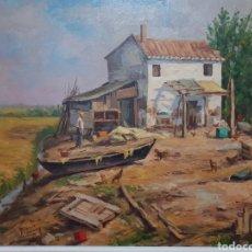 Arte: MANUEL BLANCO ALEMANY....EL PALLETER..... Lote 136031752