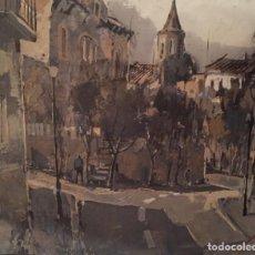 Arte: VILADRAU, 80X60 CMS, PAISAJE AL ÓLEO FIRMADO. Lote 136155434
