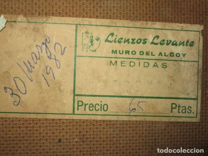 Arte: ANTIGUA PINTURA OLEO TABLA BODEGON FIRMADO ILEGIBLE - Foto 6 - 136244914