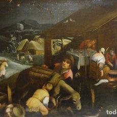 Arte: ALLEGORIA DELL'INVERNO (1575-1576) - GIACOMO DA PONTE, (JACOPO BASSANO) (H. 1515 - 1592). Lote 136299382