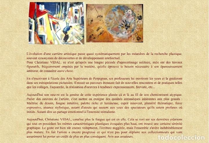 Arte: Pintura figurativa de la pintora francesa Christiane Vidal - Foto 8 - 136317806