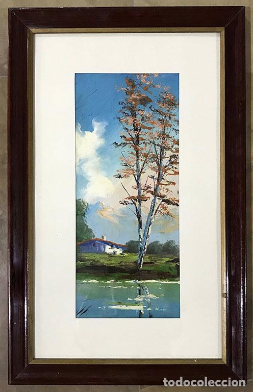 OLEO SOBRE TABLA PAISAJE (Arte - Pintura - Pintura al Óleo Moderna sin fecha definida)