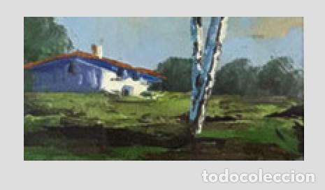 Arte: OLEO SOBRE TABLA PAISAJE - Foto 3 - 136384650