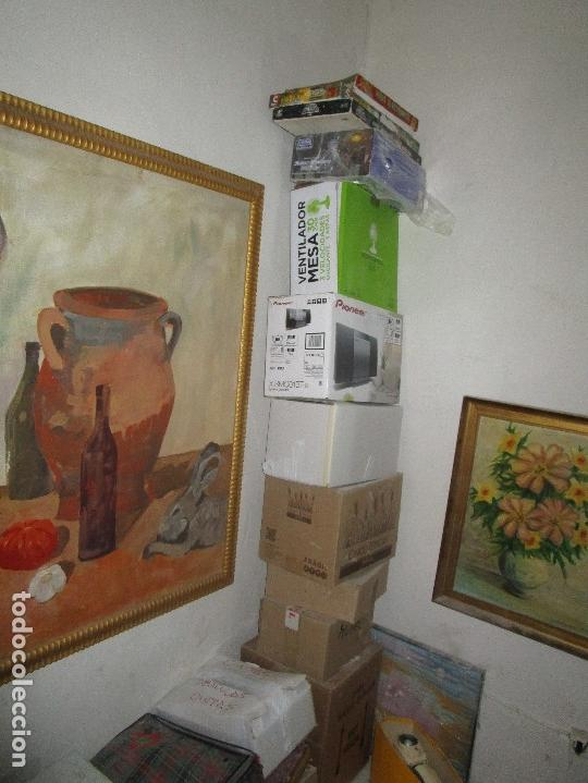 Arte: ANTIGUA PINTURA IMPRESIONISTA 160 x 120 OLEO GRANDES DIMENSION FIRMADO ILEGIBLE - Foto 9 - 98721975