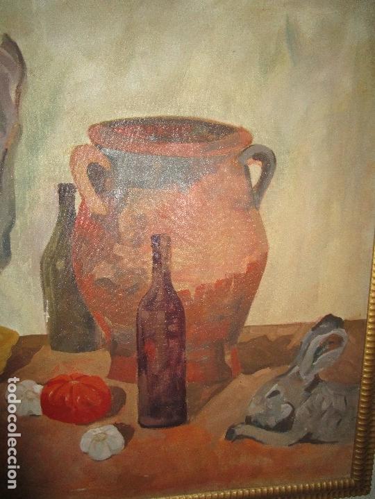 Arte: ANTIGUA PINTURA IMPRESIONISTA 160 x 120 OLEO GRANDES DIMENSION FIRMADO ILEGIBLE - Foto 13 - 98721975