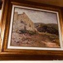 Arte: OLEO SOBRE LIENZO,PINTOR VILA CANYELLES.. Lote 136439664