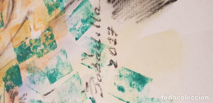 Arte: Pintura técnica mixta sobre papel pintor bobadilla - Foto 4 - 136512038