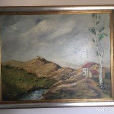 Arte: PAISAJE DE MATOS DE LA ZARZA. Lote 136565358
