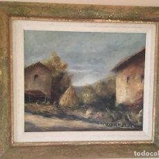 Arte: PAISAJE DE MATOS DE LA ZARZA. Lote 136569854
