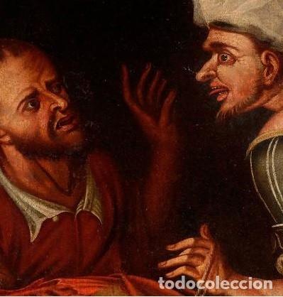Arte: Cuadro Escuela holandesa del siglo XVIII. Óleo sobre lienzo. - Foto 3 - 136650674