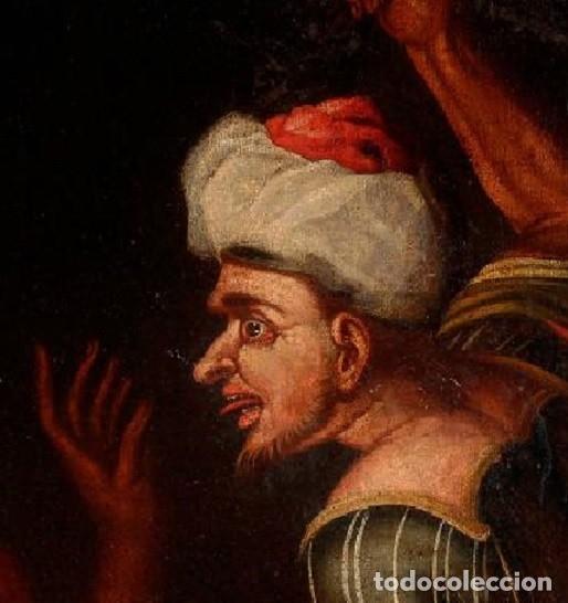 Arte: Cuadro Escuela holandesa del siglo XVIII. Óleo sobre lienzo. - Foto 4 - 136650674