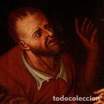 Arte: Cuadro Escuela holandesa del siglo XVIII. Óleo sobre lienzo. - Foto 5 - 136650674