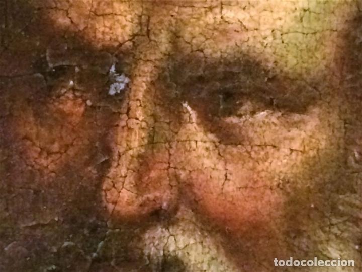 Arte: EL RETORNO DE EGIPTO. OLEO SOBRE LIENZO. COPIA DE UN ORIGINAL DE VAN DYCK. INGLATERRA(?) SIGLO XVII - Foto 13 - 136729002