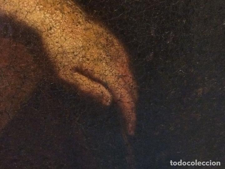 Arte: EL RETORNO DE EGIPTO. OLEO SOBRE LIENZO. COPIA DE UN ORIGINAL DE VAN DYCK. INGLATERRA(?) SIGLO XVII - Foto 18 - 136729002