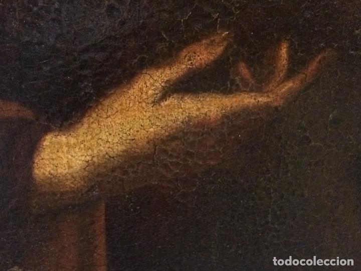 Arte: EL RETORNO DE EGIPTO. OLEO SOBRE LIENZO. COPIA DE UN ORIGINAL DE VAN DYCK. INGLATERRA(?) SIGLO XVII - Foto 20 - 136729002
