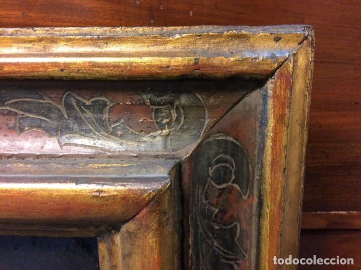 Arte: EL RETORNO DE EGIPTO. OLEO SOBRE LIENZO. COPIA DE UN ORIGINAL DE VAN DYCK. INGLATERRA(?) SIGLO XVII - Foto 22 - 136729002