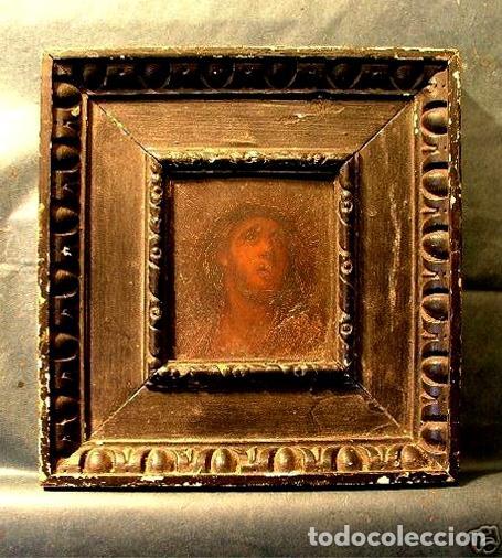BOCETO RELIGIOSO DEL SIGLO XVIII (?) (Arte - Pintura - Pintura al Óleo Antigua siglo XVIII)