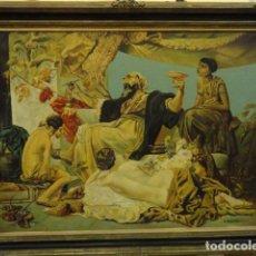 Arte: CUADRO ALEGORIA ROMANA,FIRMADO J. SABATE. Lote 136870974