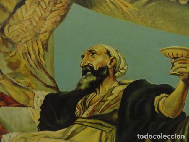 Arte: CUADRO ALEGORIA ROMANA,FIRMADO J. SABATE - Foto 5 - 136870974