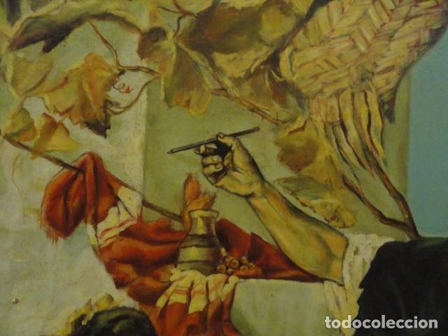 Arte: CUADRO ALEGORIA ROMANA,FIRMADO J. SABATE - Foto 9 - 136870974