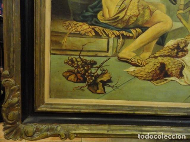 Arte: CUADRO ALEGORIA ROMANA,FIRMADO J. SABATE - Foto 13 - 136870974
