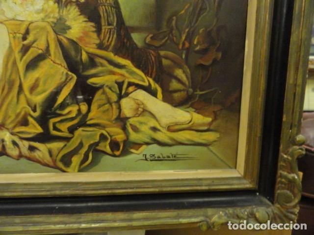 Arte: CUADRO ALEGORIA ROMANA,FIRMADO J. SABATE - Foto 15 - 136870974