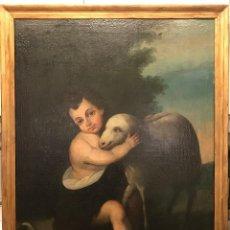 Arte: IMPORTANTE PINTURA ANTIGUA DEL SIGLO XVIII. Lote 136900374