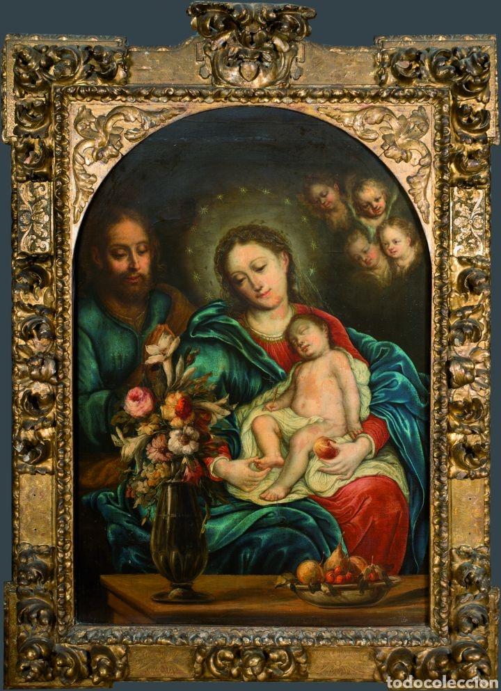 JOSE RISUEÑO (Arte - Pintura - Pintura al Óleo Antigua siglo XVII)
