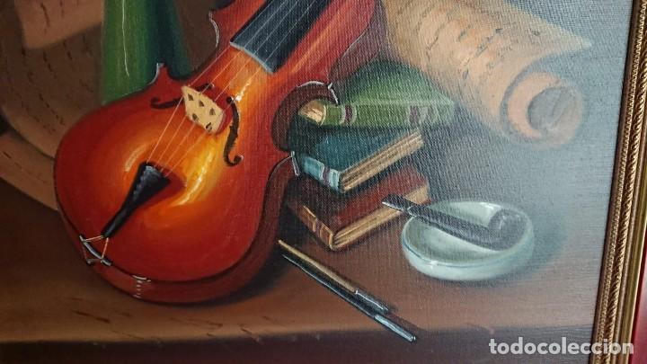 Arte: PAREJA BODEGONES ÓLEO SOBRE LIENZO RODRIGUEZ - Foto 3 - 137116382