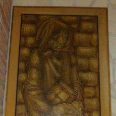Arte: PINTURA AL OLEO SOBRE LIENZO DEL PINTOR ROPERO (RIOJANO) AÑOS 60. Lote 137117986