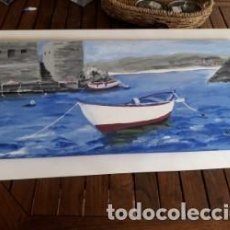 Arte: MARINA ESPECTACULAR DE MANOLO ESPINO.. Lote 137166546