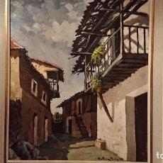Arte: OLEO LIENZO VICTORIANO MARTINEZ TERRON. Lote 137170410