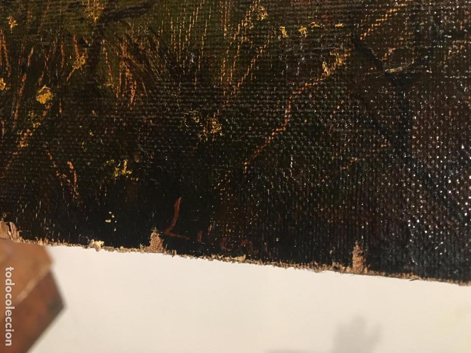 Arte: Antiguo oleo de escena taurina. A expertizar, del Discipulo de Goya Eugenio Lucas Villaamil. - Foto 9 - 137186150