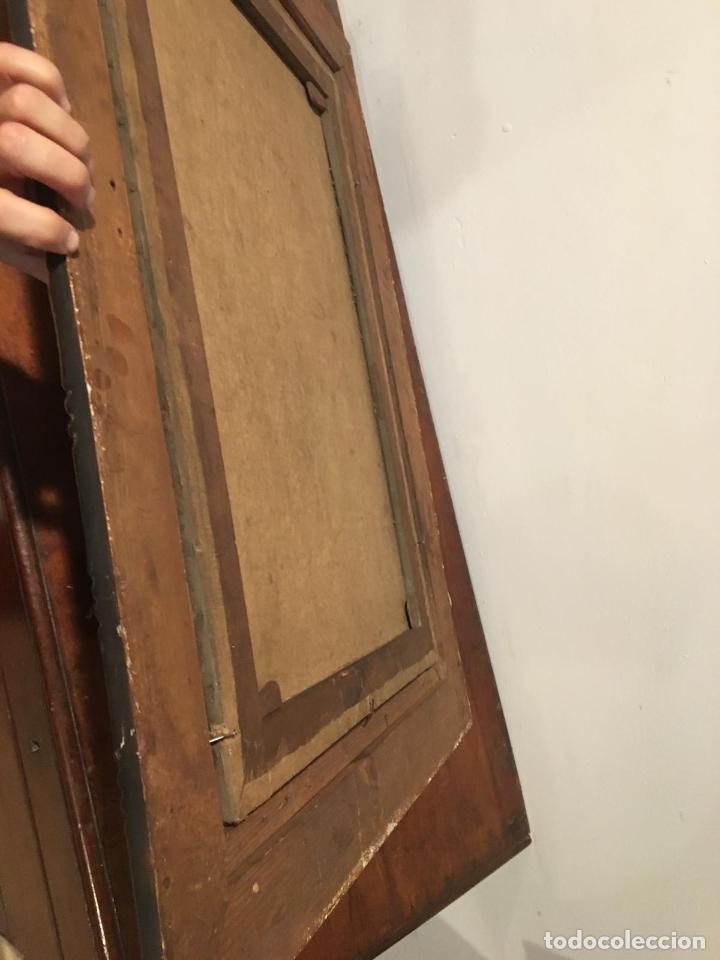 Arte: Antiguo oleo de escena taurina. A expertizar, del Discipulo de Goya Eugenio Lucas Villaamil. - Foto 11 - 137186150