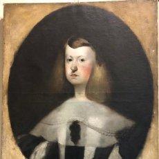 Arte: ESCUELA EUROPEA DE FINALES DEL SIGLO XVIII. RETRATO DE D. MARIANA DE AUSTRIA. Lote 137302046