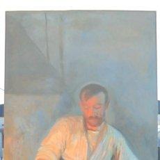 Arte: CUADRO DE FRANCISCO PRIETO. LA FRAGUA DE VULCANO. 1º EPOCA. VALLADOLID. GRAN TAMAÑO. LEER. Lote 137302430
