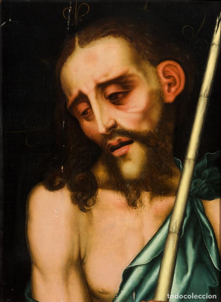Arte: Luis DE MORALES , El Divino . Ecce Homo . Painting Oil panel Catalogado por Christie's y Sotheby's - Foto 7 - 98933747