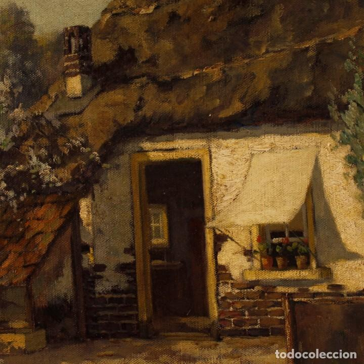 Arte: Pintura al óleo sobre lienzo con paisaje del siglo XX - Foto 5 - 137336674