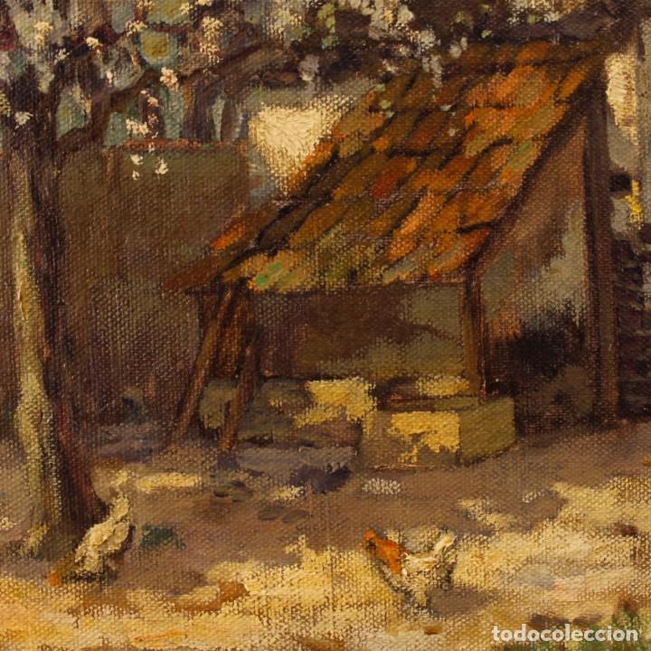 Arte: Pintura al óleo sobre lienzo con paisaje del siglo XX - Foto 6 - 137336674