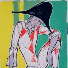 Arte: FEDERICO BLANCO (CÓRDOBA, ARGENTINA 1921-1991) PRECIOSA PINTURA VINTAGE, FIRMADA.. Lote 137355204